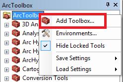 Adicionar novo Toolbox